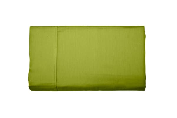 Jane Barrington 260TC Flat Sheet (King Single, Green)
