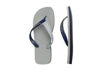 Havaianas Casual Thongs (Green/Navy Blue)