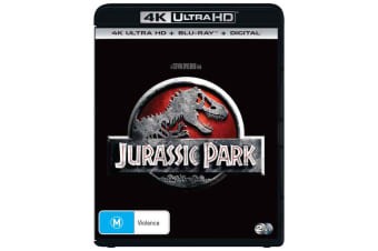 Jurassic Park 4K Ultra HD Blu-ray Digital Download UHD Region B