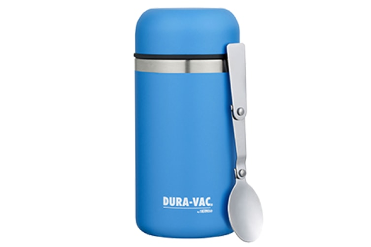 Thermos Duravac Vacuum Insulated Food Jar With Spoon 500ml - Blue