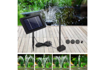 8W Solar Powered Water Pond Pump Outdoor Submersible Fountains