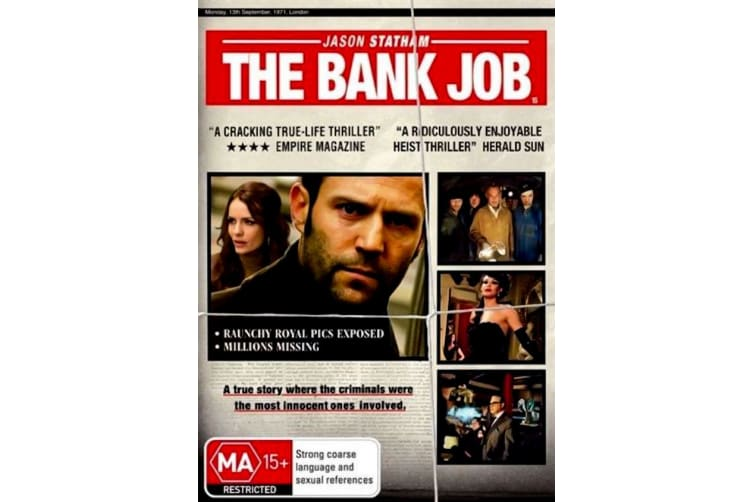 The Bank Job - Region 4 Rare- Aus Stock DVD PREOWNED: DISC LIKE NEW