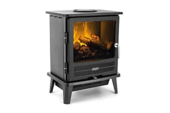 Dimplex Willowbrook 2000W Electric Heater/Fireplace Heat Settings/Remote Control