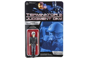 Terminator 2 T-1000 Frozen Patrolman US ReAction Fig