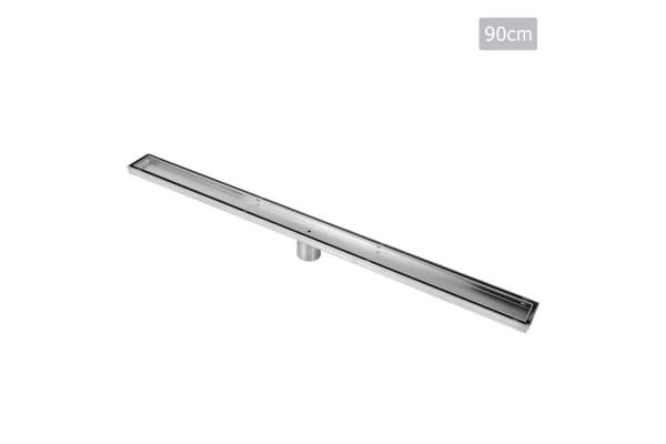 Tile Insert Stainless Steel Shower Grate Drain Floor Bathroom 900mm