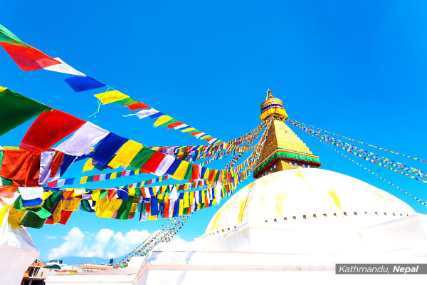 NEPAL & CHINA: 14 Day Nepal and China Undiscovered Tour for Two with Flights (ADL)
