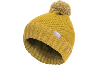 Trespass Childrens/Kids Nefti Pom Pom Beanie (Gold)