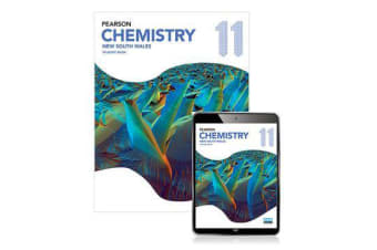 Pearson Chemistry 11 New South Wales Student Book with Reader+