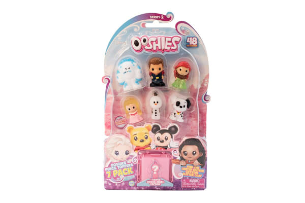 Ooshies Disney Assorted 7 Pack S2