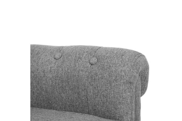 Provincial Fabric Armchair (Grey)