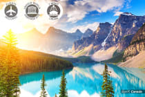 CANADA & ALASKA: 15 Day Rocky Mountaineer Tour & Alaska Cruise Including Flights for Two