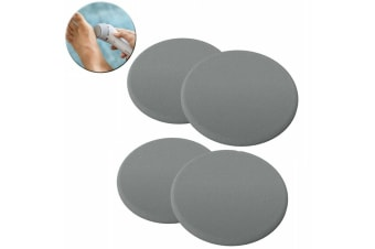 4PK Philips BCR372/00 Replacement Pedi Pads Disk/Discs Foot File Callus Care GRY