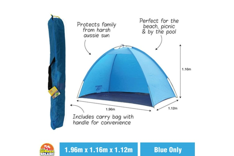 Portable Pop Up Beach Tents Tent Canopy Sun Shade Shelter Camping Fishing Hiking