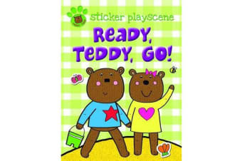 Ready Teddy Go! - Sticker and Activity with Fold-out Playscene