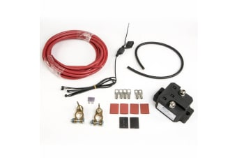 Btvcr160 12V Automatic Universal Car Dual Battery Isolator Relay Charger System Kit