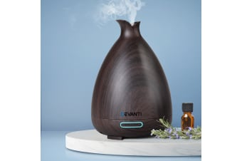 Devanti Ultrasonic Aroma Aromatherapy Diffuser LED Essential Oil Humidifier DW