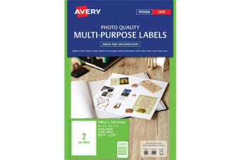 AVERY L7768-25 Multi-Purpose Labels 200x144mm - 50 Labels