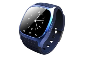 """TODO Bluetooth V3.0 Smart Watch 1.4"""" Tft Lcd Rechargeable Android Call - Blue"""