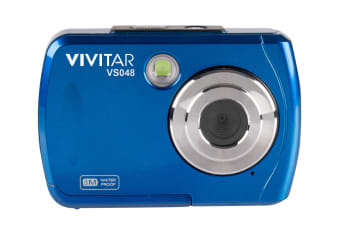 Vivitar Waterproof Digital Camera (Blue)