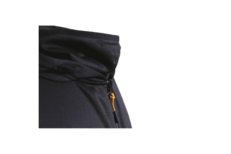 Caterpillar Mens Guardian Hoodie (Black) (3XL)