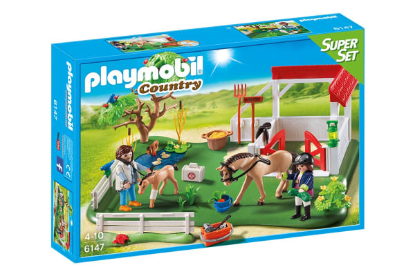 Playmobil Horse Paddock Super Set