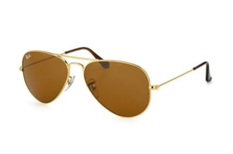 Ray Ban RB3025 AVIATOR - Gold (Brown lens) / 58--14--135 Unisex Sunglasses