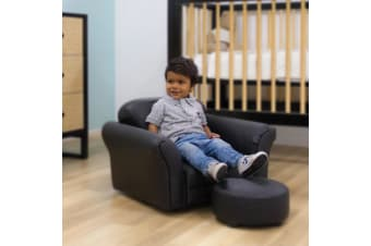 Childcare Kids Rocking Chair and Ottoman