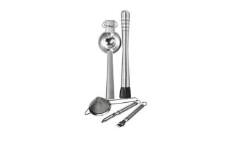 Uber Bar Tools Bartender Essentials Set