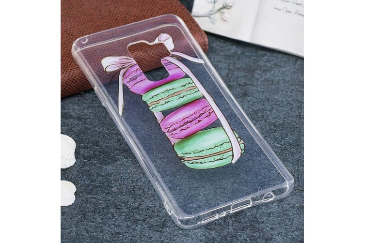 For Samsung Galaxy S9 PLUS Back Case Stylish Macarons Durable Protective Cover