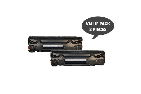 CE285A #85A Cart325 Black Generic Toner (Two Pack)