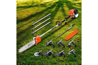 65CC Pole Chainsaw Hedge Trimmer Brush Cutter Whipper Snipper Tool