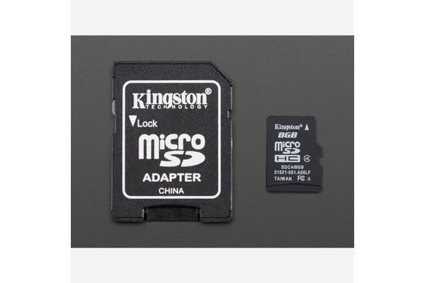 8GB Card with NOOBS 1.4
