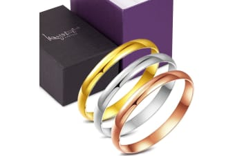 Medium Line 3 Pieces Bangle Set