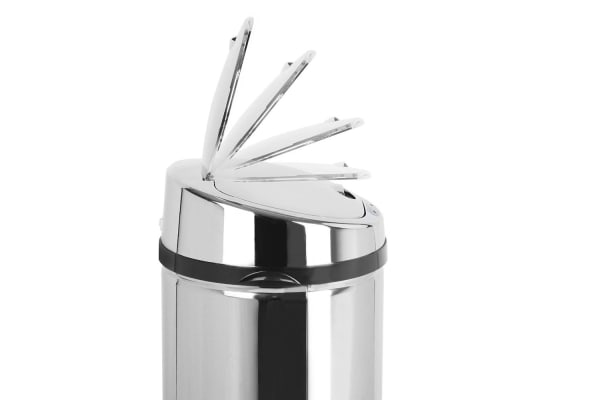 Stainless Steel Motion Sensor Rubbish Bin 50L (Round)