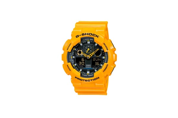 Casio G-Shock Ana-Digital Watch - Yellow (GA100A-9A)