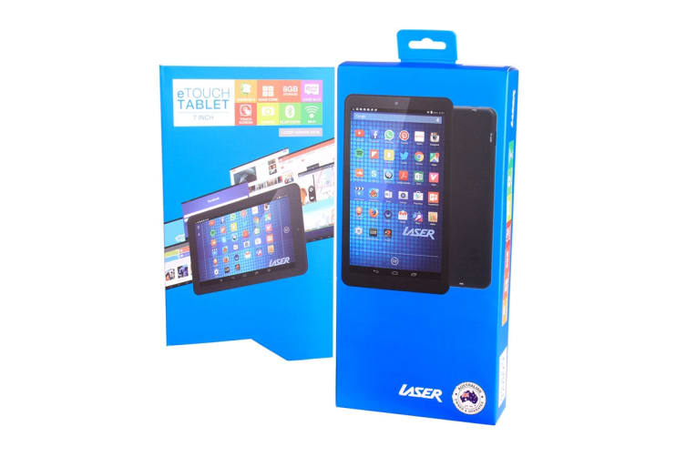 """Laser 7"""" Quad Core Android 7 Tablet (MID-787)"""