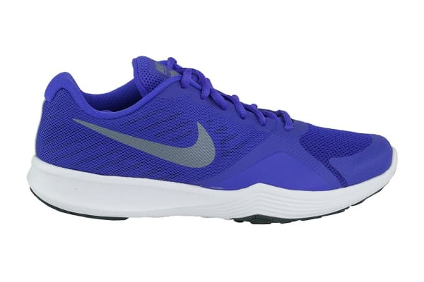 Nike Women's City Trainer Shoes (Persian Violet/Grey/Anthracite, Size 5.5)