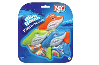 Catch The Sharks Dive Game