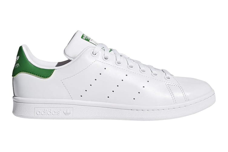 competitive price a806c 7b78a Adidas Originals Men's Stan Smith Shoe (White/Green, Size 11 UK)
