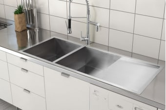 Kromo Vironia 550X Kitchen Sink (35 x 40 x 19.5cm)