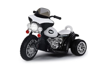 b0481e243be ROVO KIDS Electric Ride On Patrol Motorbike Police Motorcycle Toy Bike  Battery