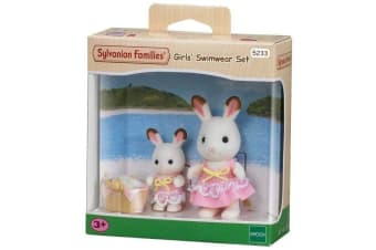 Sylvanian Families Girls Swimwear Set with Figures