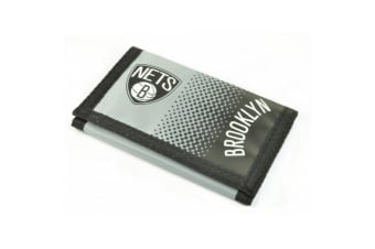Brooklyn Nets Official NBA Wallet (Black/Grey/White)