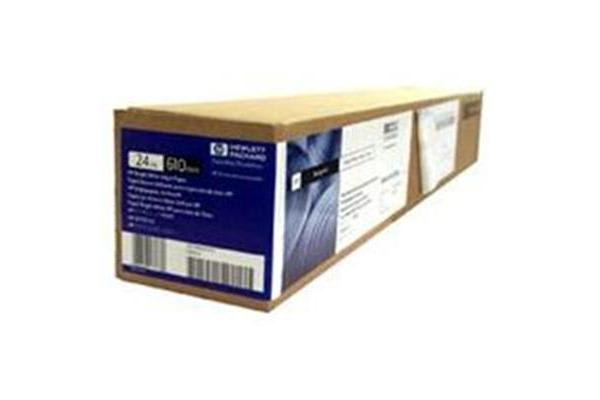 HP Bright White InkJet 610mm x 45M Roll 90GSM For everyday blk and colour line drawings