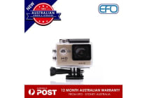 N9Se Portable 30M Waterproof Wi-Fi Loop Recording 1080P Action Camera Golden