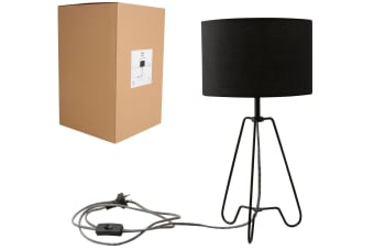 Black Metal Base Table Lamp | Luminite