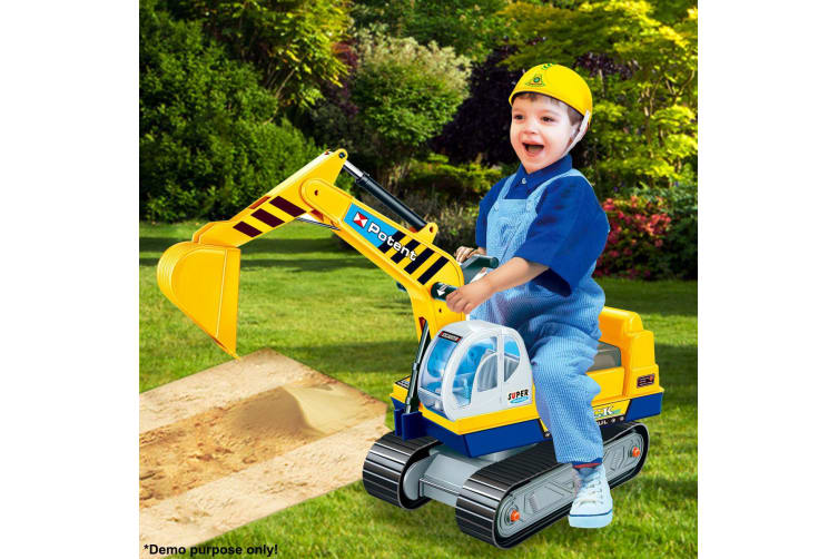 Toy Ride On Excavator Digger Pretend Play Construction Truck