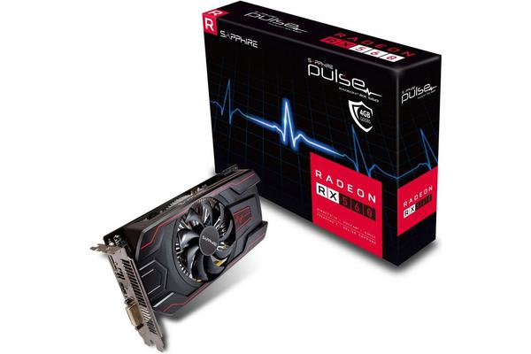 Sapphire AMD PULSE RX 560 4GB Gaming Video Card - GDDR5 DP/HDMI/DVI AMD Eyefinity 1226MHz