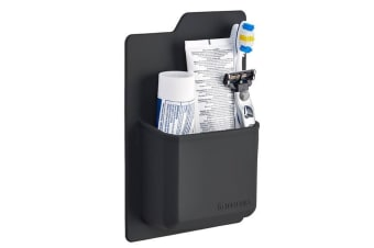 Tooletries The James Toiletry Organiser Charcoal