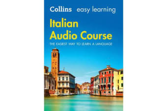 Easy Learning Italian Audio Course - Language Learning the Easy Way with Collins